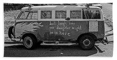 Hippie Van, San Francisco 1970's Beach Sheet