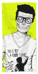 Hipsters Not Dead Beach Towel