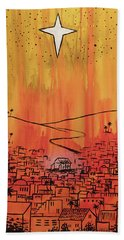 Beach Towel featuring the painting His Delight by Nathan Rhoads