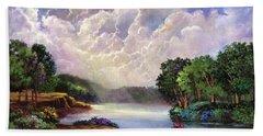 His Divine Creation Beach Towel