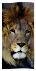 His Majesty The King Beach Towel