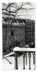 Beach Towel featuring the photograph Historic Bethlehem Pa by DJ Florek