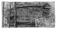 Historic Bridge Beach Towel