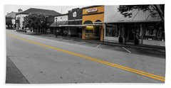Historic Buford In Selective Color Beach Sheet