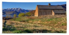 Historic Francis Tate Barn - Wasatch Mountains Beach Sheet