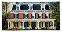 Historic Isaac Stover House  Beach Towel