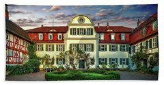 Historic Jestadt Castle Beach Towel