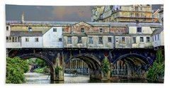 Historic Pulteney Bridge Beach Towel