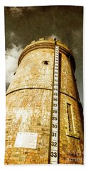 Historic Water Storage Structure Beach Towel