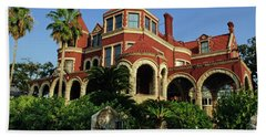 Beach Towel featuring the photograph Historical Galveston Mansion by Tikvah's Hope
