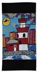 Historical Michigan Lighthouse Beach Sheet