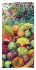 Hitching Post Harvest Beach Sheet by Ashley Kujan