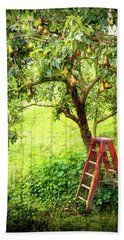 Hobbit Pear Tree Beach Sheet
