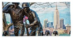 Hoboken War Memorial Beach Towel