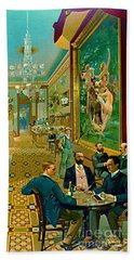 Hoffman House Bar 1890 Beach Towel