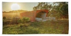 Hogback Covered Bridge 2 Beach Sheet
