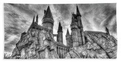 Hogwarts Castle 1 Beach Towel