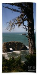 Beach Sheet featuring the photograph Hole In One by Marie Neder