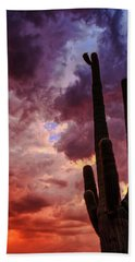 Beach Towel featuring the photograph Hole In The Sky by Rick Furmanek