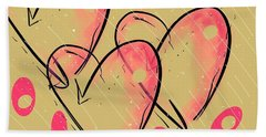Hole Lotta Love - Neon Pink Edition Beach Towel