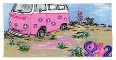 Holidays  Beach Sheet by Teresa White