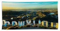 Hollywood Dreaming Beach Sheet