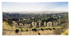 Hollywood Beach Sheet by Michael Weber