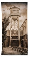 Hollywood Water Tower 2 Beach Towel
