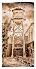 Hollywood Water Tower Beach Towel