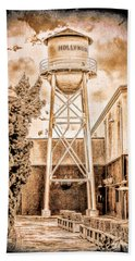 Hollywood Water Tower Beach Towel
