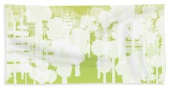 Beach Towel featuring the digital art Holy Vale by Kevin McLaughlin