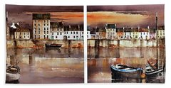 Home Of The Hookers, Galway Citie Beach Towel
