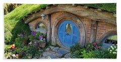 Home Sweet Hobbit Beach Sheet