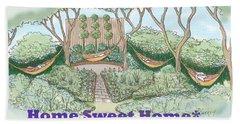 Home Sweet Home Beach Sheet