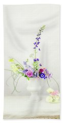 Homegrown Floral Bouquet Beach Towel