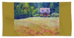Beach Sheet featuring the painting Homestead by Nancy Jolley