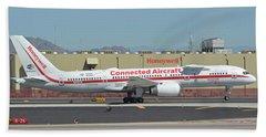 Honeywell Boeing 757-225 N757hw Phoenix Sky Harbor September 30 2017 Beach Sheet