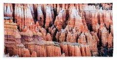 Hoodoos At Bryce Canyon Utah Beach Sheet