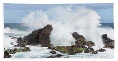 Hookipa Point Beach Towel