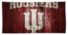 Hoosiers Barn Door Beach Towel