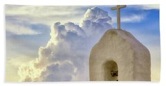 Beach Towel featuring the photograph Hope In The Storm by Rick Furmanek