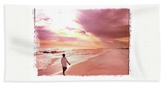 Beach Towel featuring the photograph Hope's Horizon by Marie Hicks