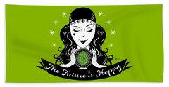 Hoppy Fortune Teller Beach Sheet