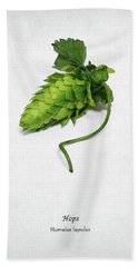 Hops Beach Towel by Mark Rogan