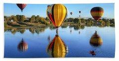 Hor Air Balloons 2 Beach Sheet