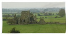 Beach Towel featuring the photograph Hore Abbey by Marie Leslie