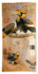Hornbill  Beach Towel