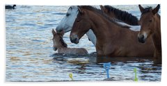 Horse 6 Beach Towel