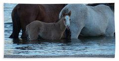 Horse 9 Beach Towel