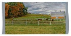 Horse Barn In Ohio  Beach Sheet